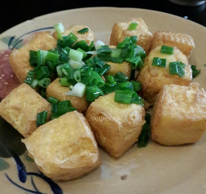 Fried tofu Quan Bui style