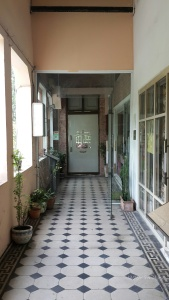 Hallway to entrance