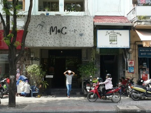 Entrance next to M2C Cafe