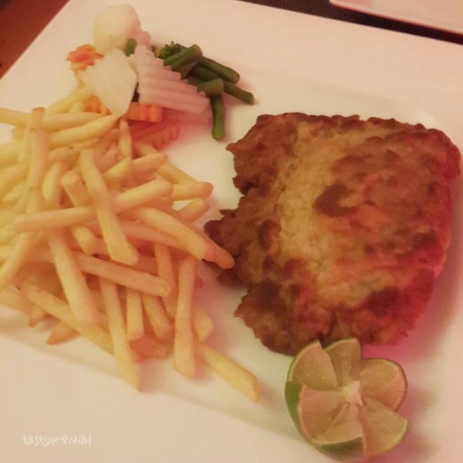 Pork Cordon Bleu Swiss House