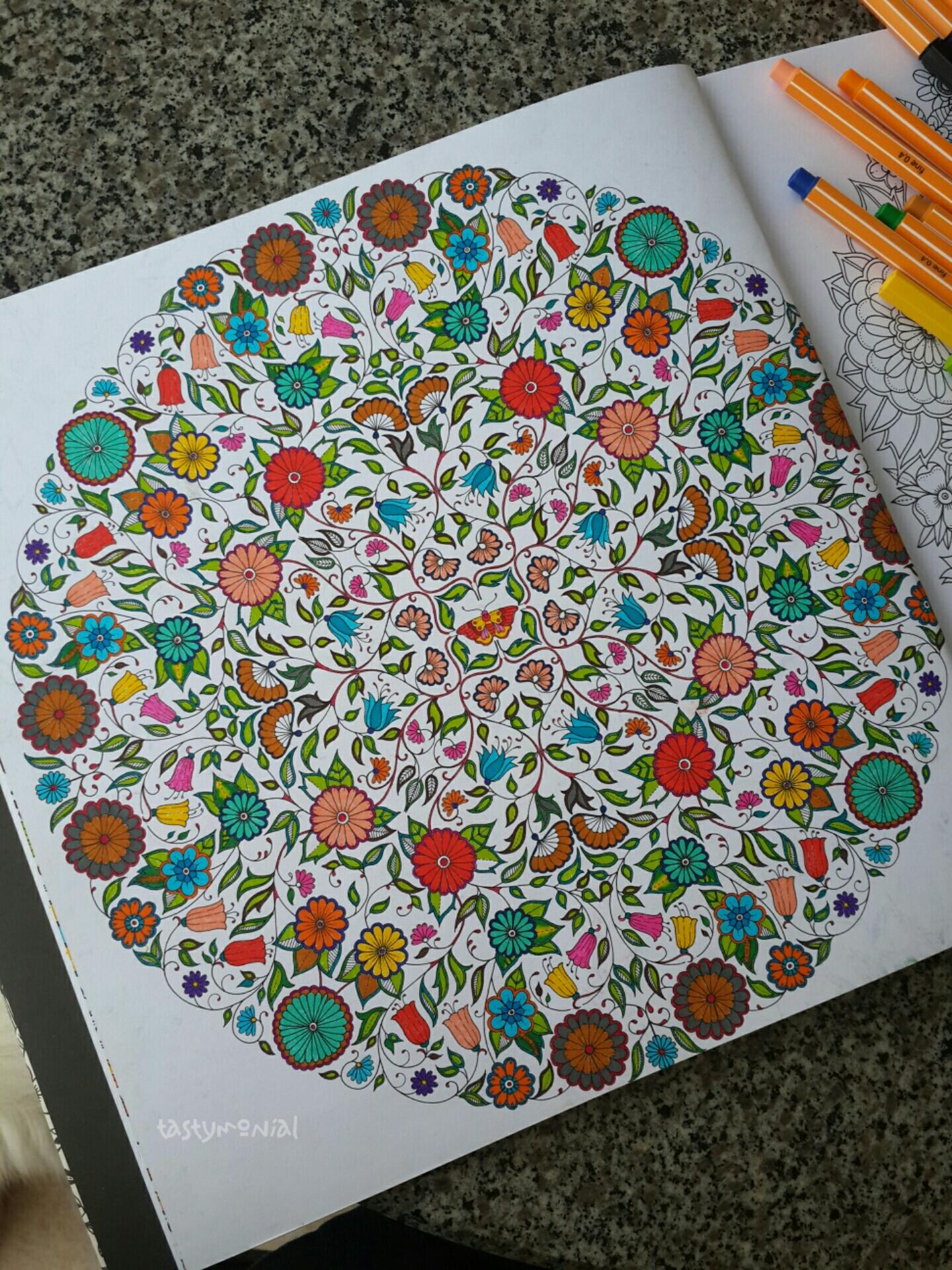 Secret Garden 3 Pages Full Color Tastymonial