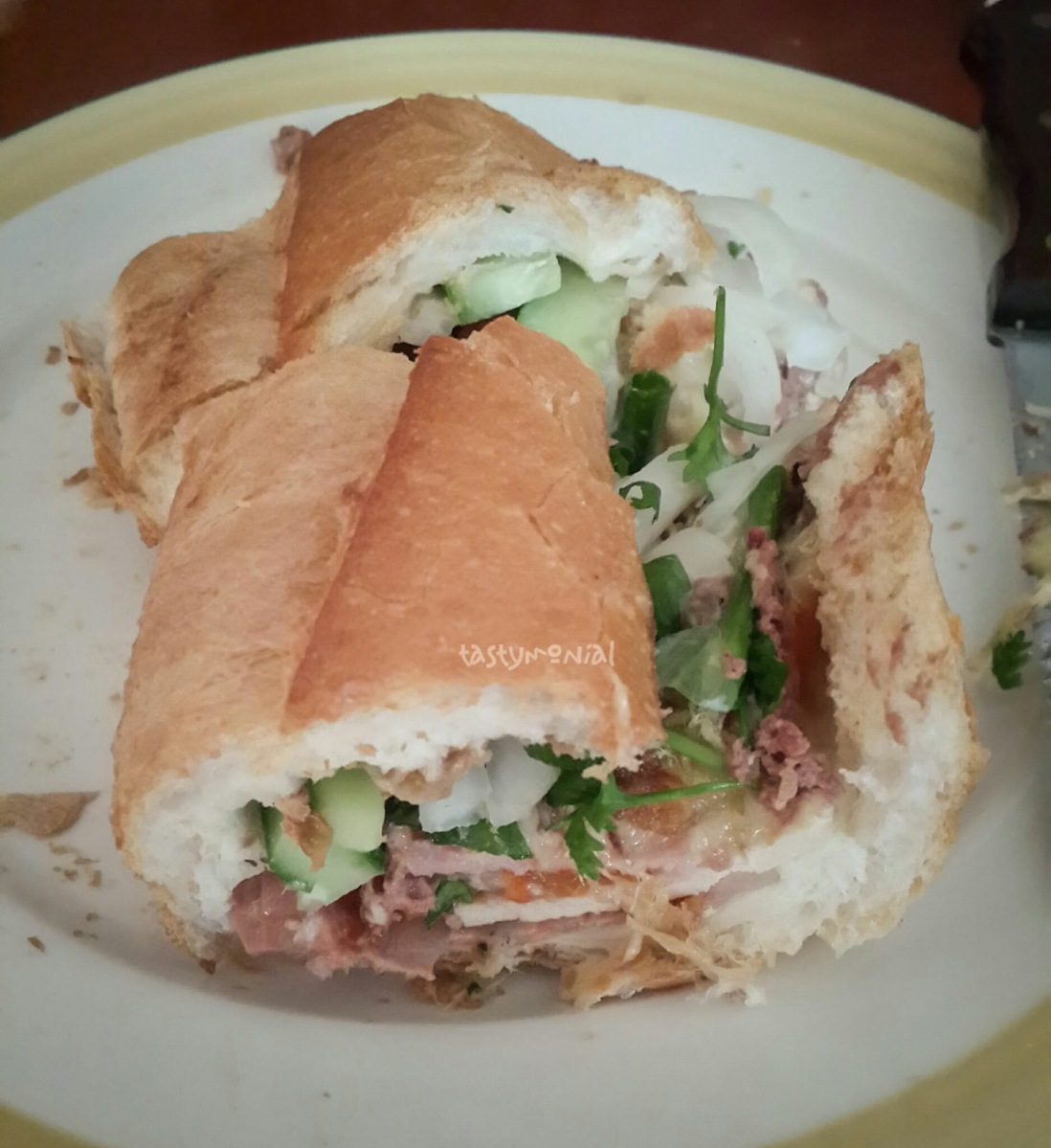 Banh Mi Huynh Hoa – for meat lover!
