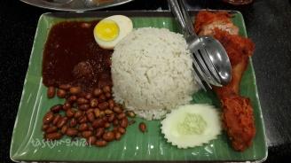 Nasi Lemak Ayam Goreng