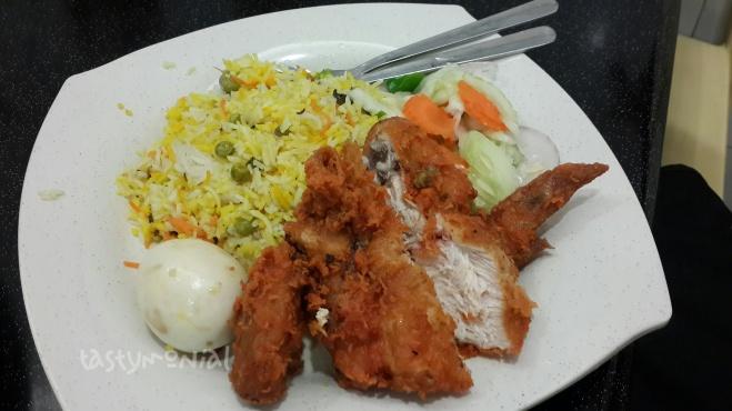 Nasi Kandar Ayam Goreng
