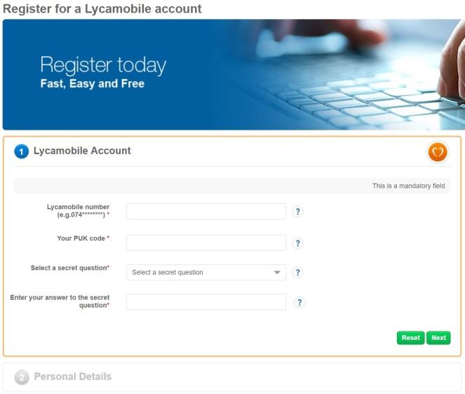 Lyca register