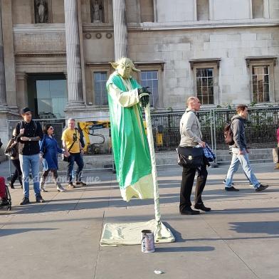 Yoda Cosplay for photo