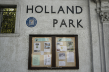 Holland Park Entrance