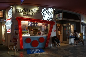 Moomin Cafe take away corner