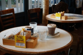 Chocolate drink Moomin Cafe