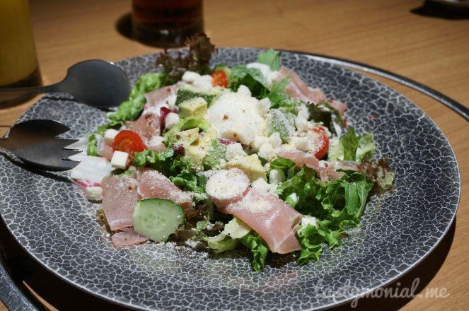 Salad at Kaizantei Hakata Fukuoka
