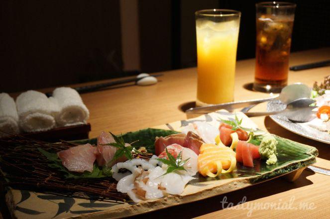 Assorted sashimi Kaizantei Hakata Fukuoka