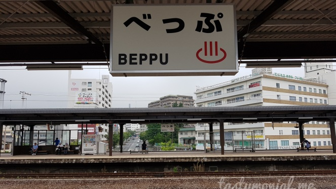 Beppu train Station