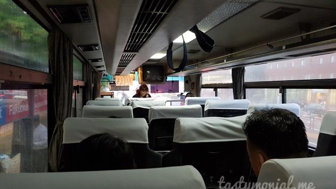 Bus interior beppu fukuoka