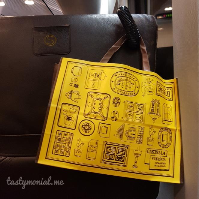 Fukusaya Castella Cake Bag