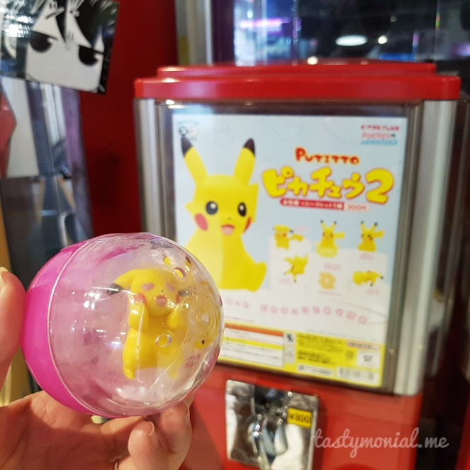 Pikachu Gachapon Gashapon Japan