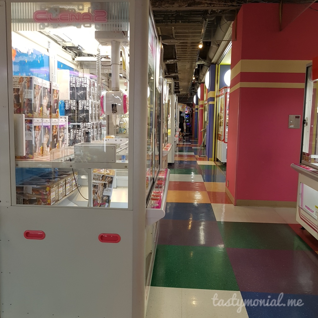 Namco Arcade at Hakata Bus Building