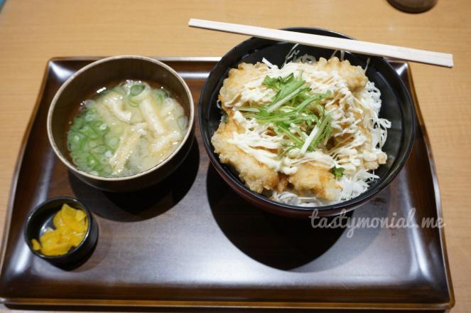 Chicken Tempura (Tori Karaage) Oita Special food