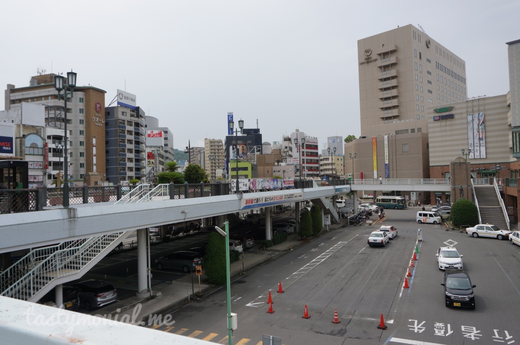 City View in front of Nagasaki Station