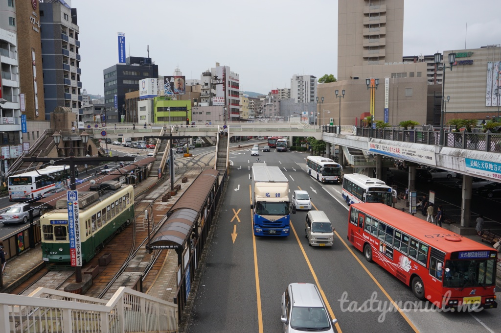 All kind of transport in Nagasaki