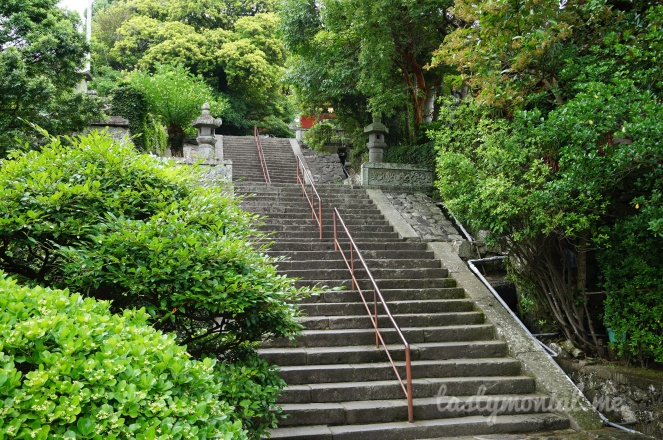 Stairs at Daikoji Temple