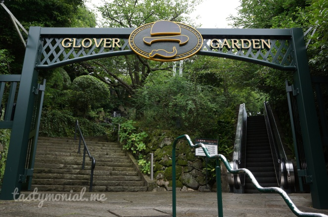 Entrance to Glover Garden Nagasaki