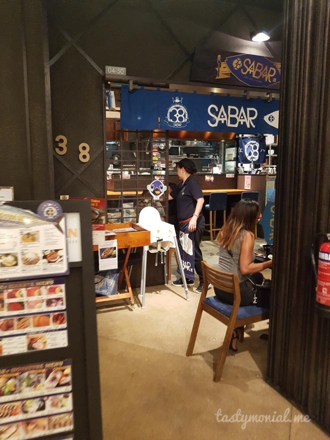 Toro38 Sabar Singapore entrance
