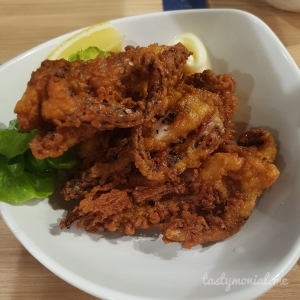 Fried Squid Sabar