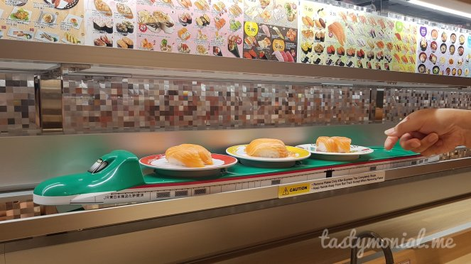 Genki Sushi Food Train