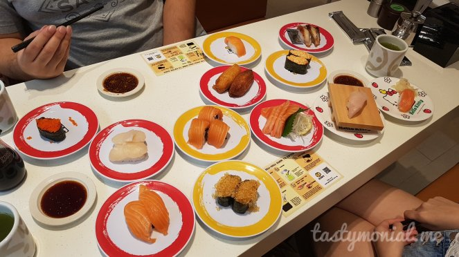 Genki Sushi yummy food