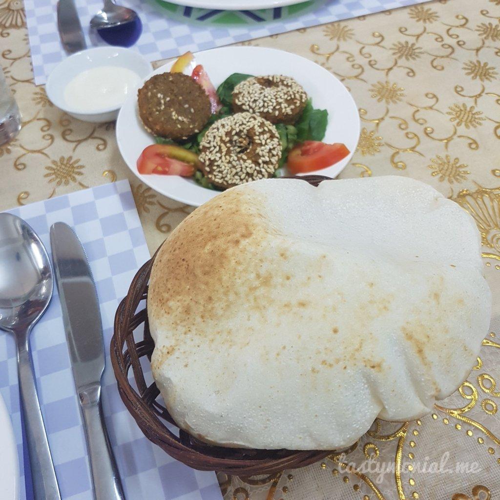 Bread and Falafel Al Sham