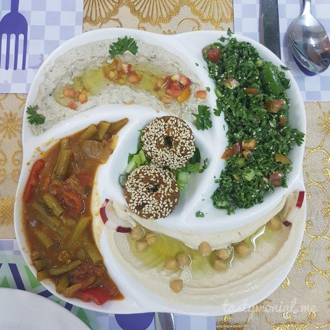 Mezza Platter Al-Sham