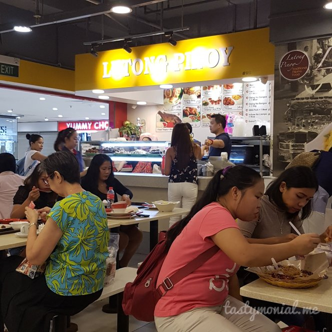 Lutong Pinoy Filipino Food in Singapore