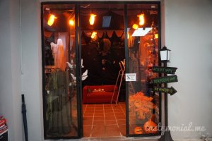 Entrance to Kepi Halloween special section