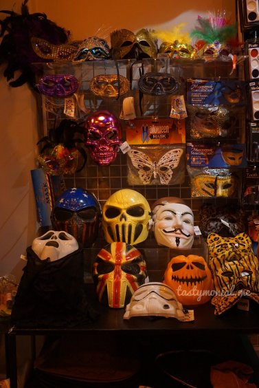 Assorted masks