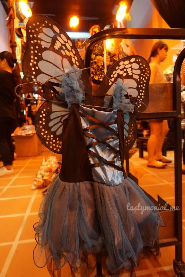 blue butterfly princess costume