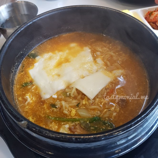Shin Ramen with Cheese at K-Food