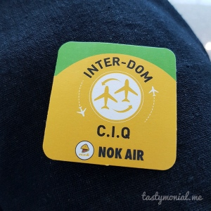 Nok Air Sticker