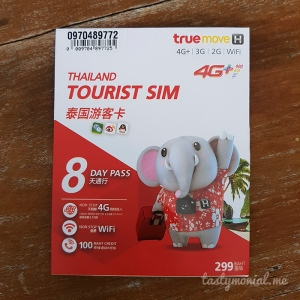 Thailand Truemove Tourist Sim Card