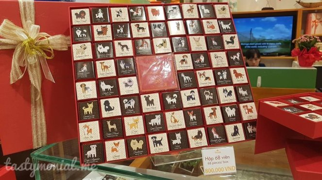 Dog theme chocolate chocomin