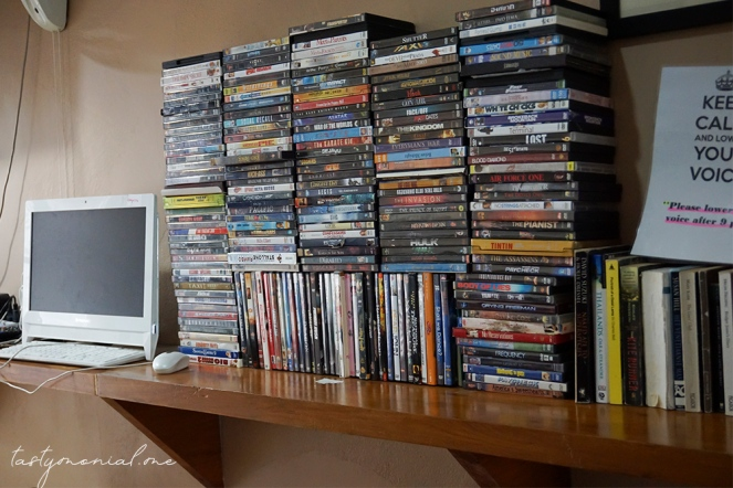 DVD Collections at Box Hostel