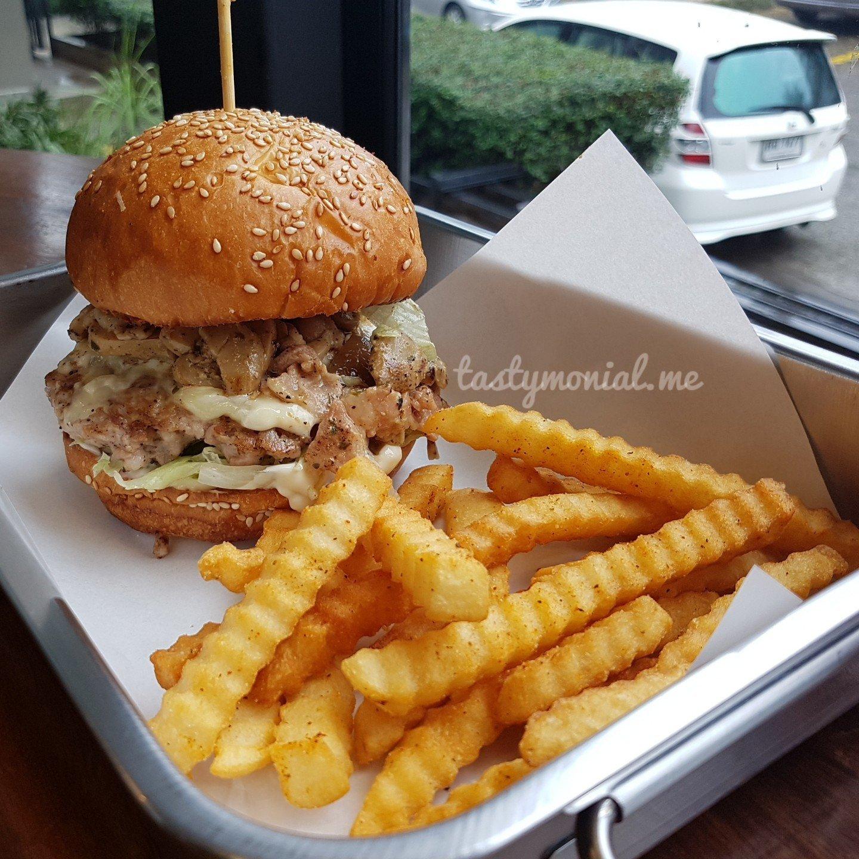 Aioli Mushroom Burger Beast Burger Chiang Mai
