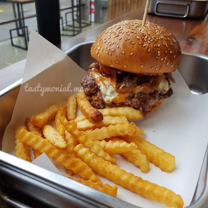 Double Double Burger Beast Burger Chiang Mai