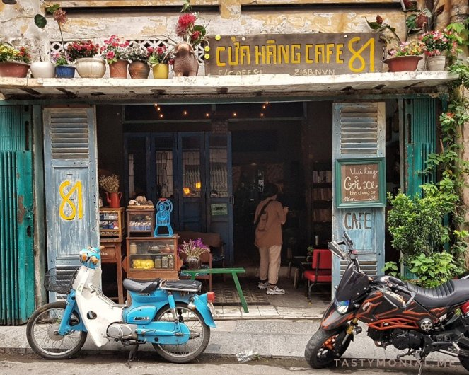 Cua Hang Cafe 81 Coffee Shop Saigon