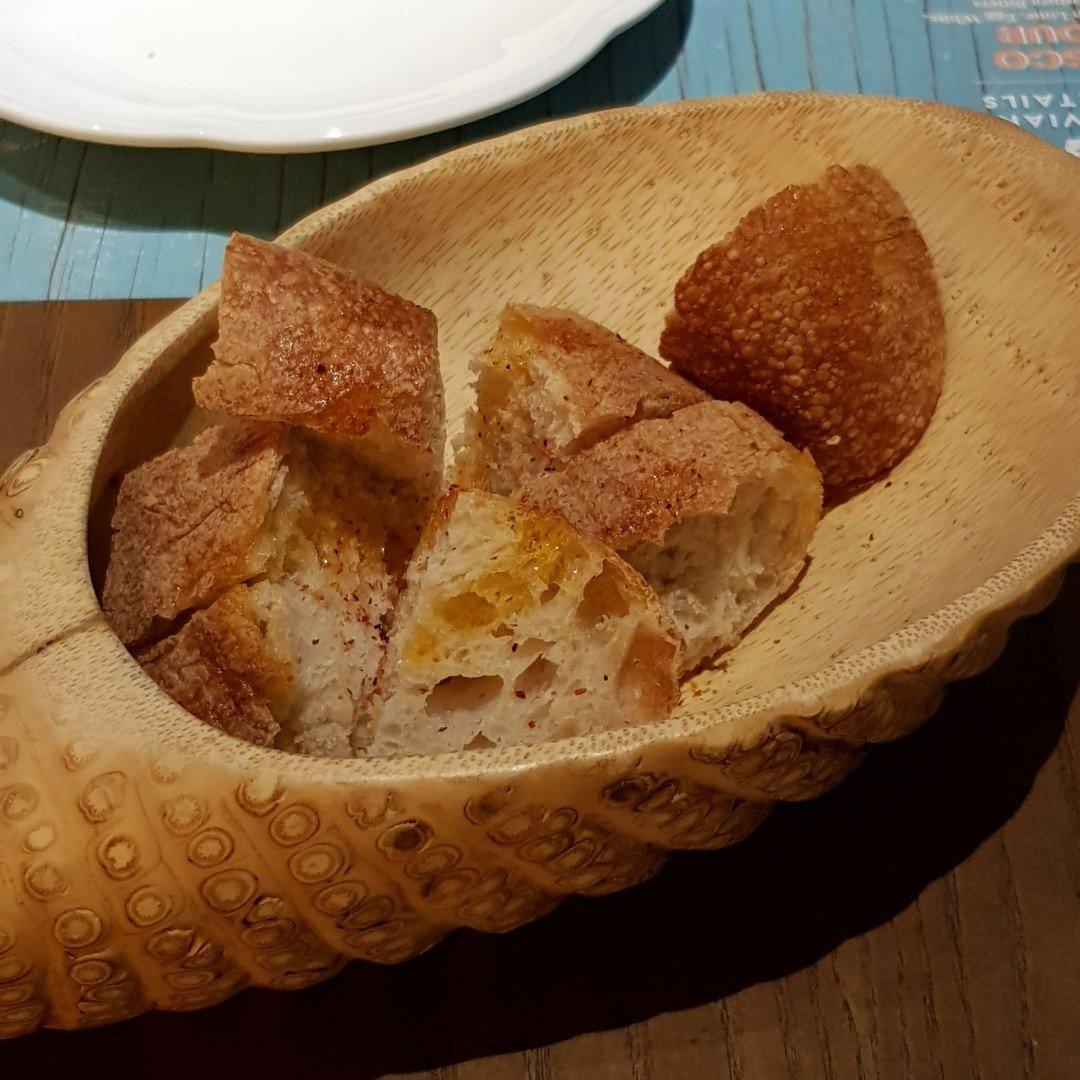 Bread starter tono cevicheria