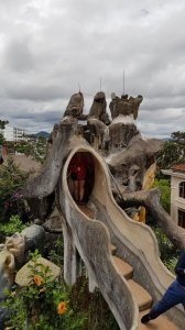 Crazy House rooftop