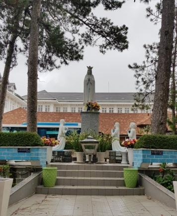 Praying area at Da Lat Cathedral