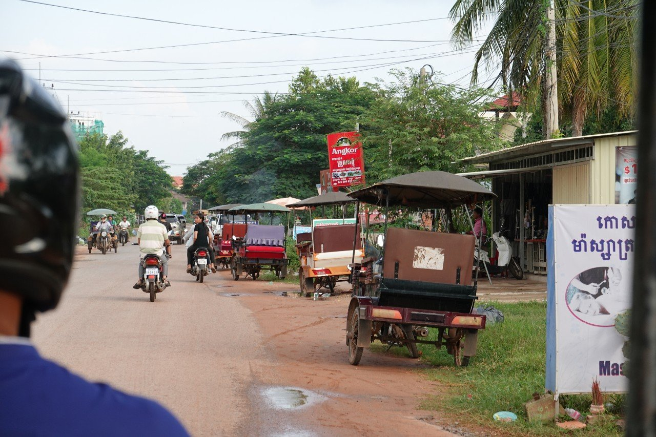 Siem Reap city view
