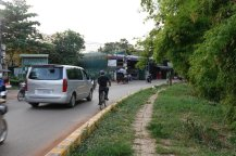 Siem Reap City Cambodia Traffic