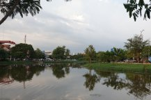 Siem Reap City Cambodia River