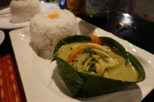 Steamed Amok Fish The Oasis Siem Reap